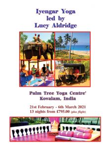Free Spirit- Lucy Aldridge, Kerala India Flyer PDF